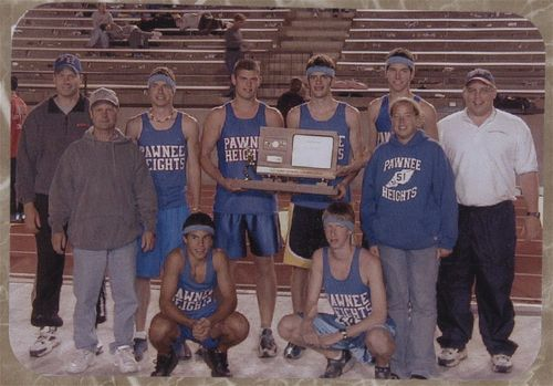Pawnee Heights High School track team - Page