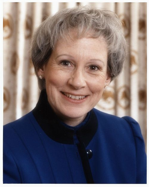 Portrait of Nancy Landon Kassebaum, 1991