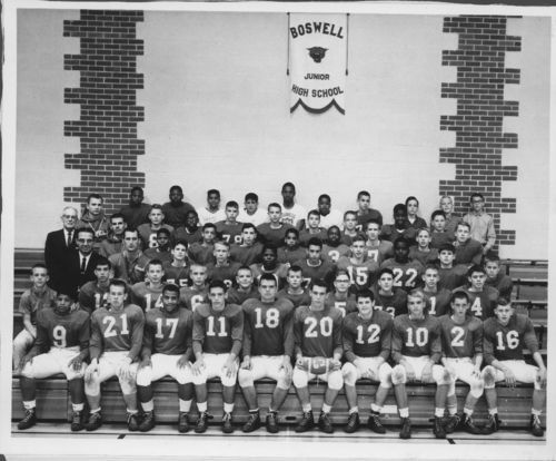 Boswell Junior High School football team, Topeka, Kansas - Page