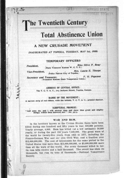 The Twentieth Century Total Abstinence Union - Page