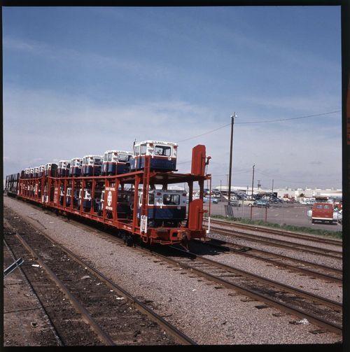 Atchison, Topeka & Santa Fe Railway Company bi-level auto cars, Phoenix, Arizona - Page