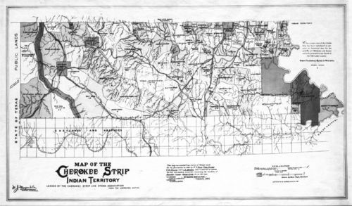 Map of the Cherokee Strip - Page