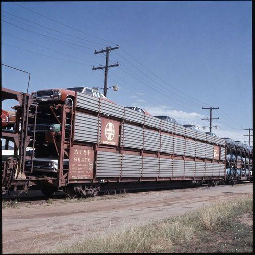 Atchison, Topeka & Santa Fe Railway Company autoveyor car - Page