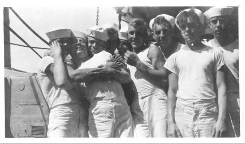 Sailors on the USS New Orleans - Page