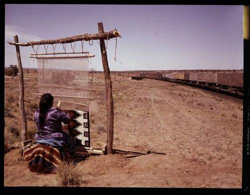 Atchison Topeka & Santa Fe Railway Company train, New Mexico - Page