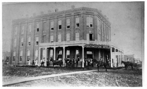 Southwestern Hotel, Caldwell, Kansas - Page