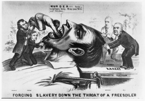 Forcing slavery down the throat of a freesoiler - Page