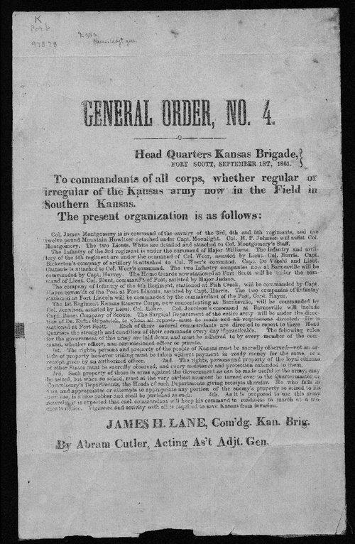 General Order, No. 4 - Page