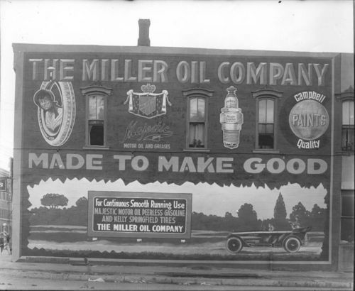 Miller Oil Company advertisement, Iola, Kansas - Page
