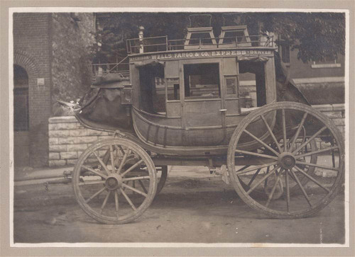 Wells Fargo and Co. Express stagecoach - Page