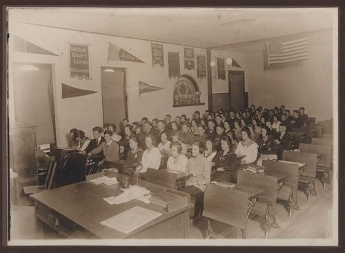 High school classroom, Florence, Kansas - Page