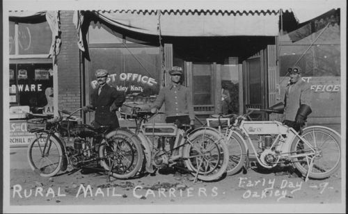 Rural mail carriers, Oakley, Kansas - Page