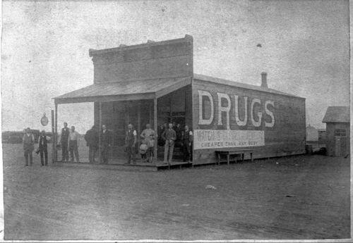 Campbell Drug Store, Claflin, Kansas - Page