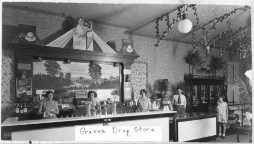 Graves Drug Store, Garnett, Kansas
