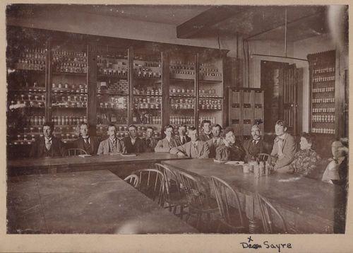 Pharmacy class at the University of Kansas, Lawrence, Kansas - Page