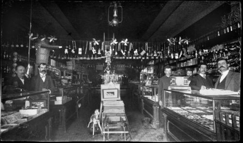 Carlin Drug Store, Brookville, Kansas - Page