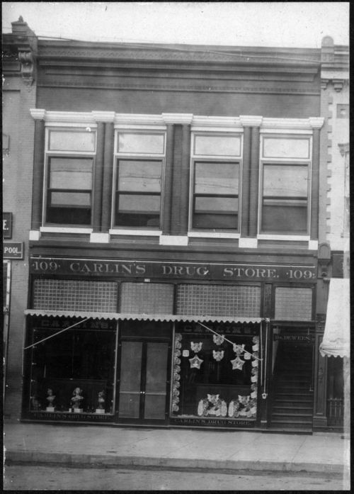 Carlin's Drug Store, Salina, Kansas - Page