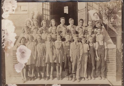 Students and teachers at Eureka Number 1Grade School, Wichita, Kansas - Page