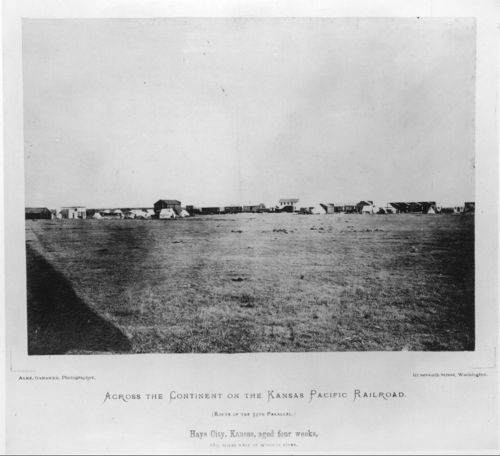 Hays City, Kansas, aged four weeks, 289 miles west of the Missouri River - Page