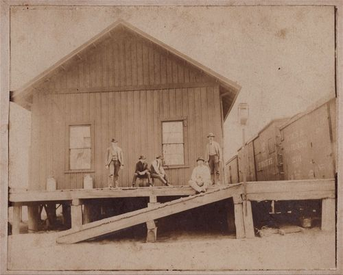 Union Pacific Railroad Company depot, Park, Kansas - Page