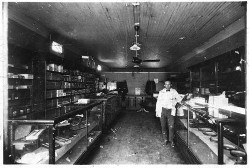 Griffin and Son Men's Furnishings and Drugs, Nortonville, Kansas - Page