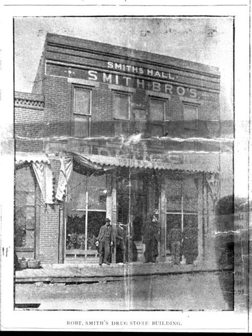 Robert Smith's Drug Store, Meriden, Kansas - Page