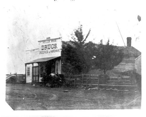 Holler Brothers Drugs, Groceries, and Hardware; Ozawkie, Kansas - Page