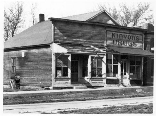 Kinyon's Drugs, Winchester, Kansas - Page