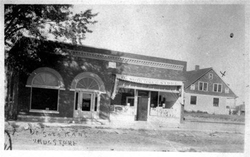 De Soto Drug Store, De Soto, Kansas - Page