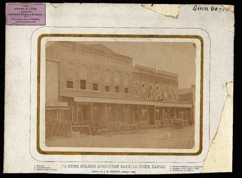 La Cygne Building Association Block, La Cygne, Kansas - Page