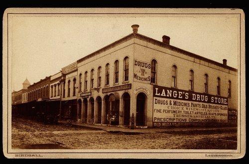 Lange's Drug Store, Leavenworth, Kansas