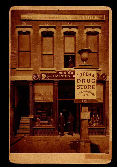 Topeka Drug Store, Stringham Barns and Company, Topeka, Kansas - Page