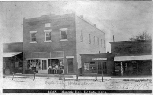Masonic Hall, De Soto, Kansas - Page