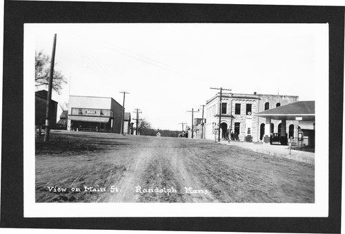 Main Street, Randolph, Kansas - Page