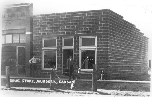 Drug Store, Murdock, Kansas - Page