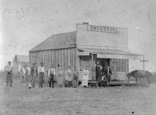 Drug Store, Mound Valley, Kansas - Page