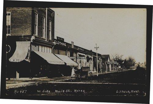 Main Street, Lyndon, Kansas - Page