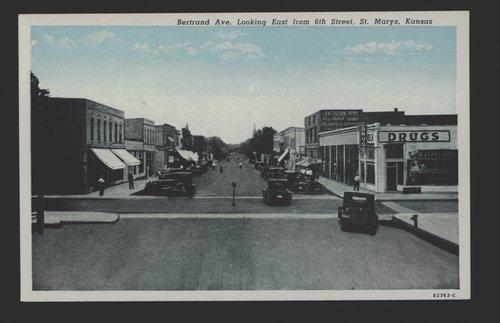 Street Scene, St. Marys, Kansas - Page