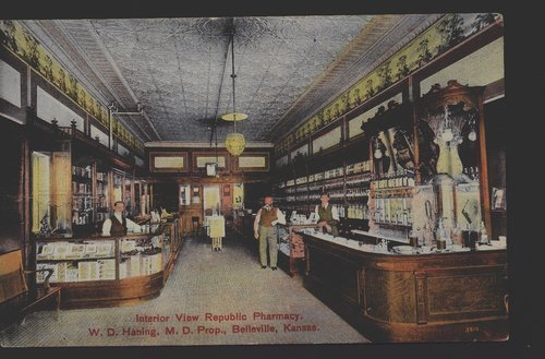 Republic Pharmacy, Belleville, Kansas - Page