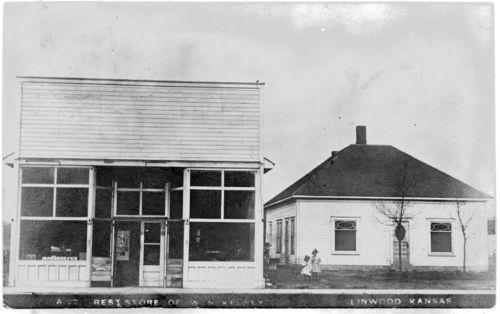 Kelsey's Drug Store, Linwood, Kansas - Page