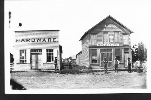 R. B. Hogue Drug Store and Hardware store, New Albany, Kansas - Page