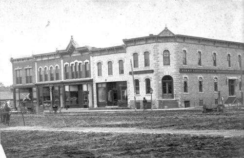 Street Scene, Burlingame, Kansas - Page