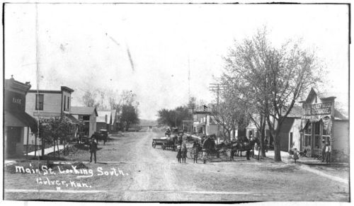 Main Street, Culver, Kansas - Page