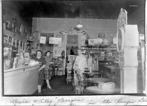 Berges Drug Store, Onaga, Kansas - Page