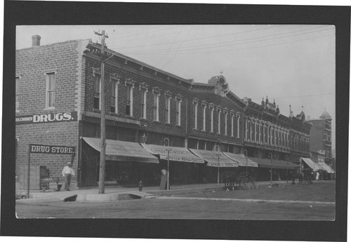 Business district, Anthony, Kansas - Page