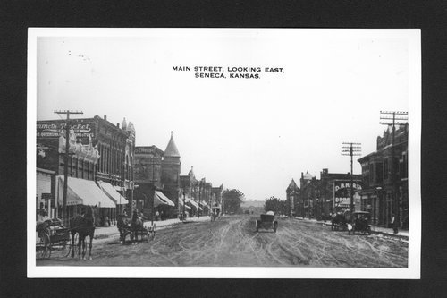 Main Street, Seneca, Kansas - Page