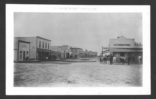 Street Scene, Wallace, Kansas - Page