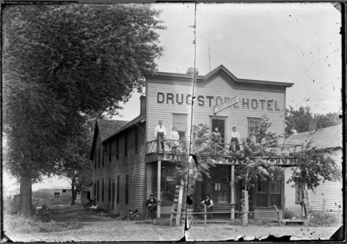 Drug Store Hotel, Mount Hope, Kansas - Page