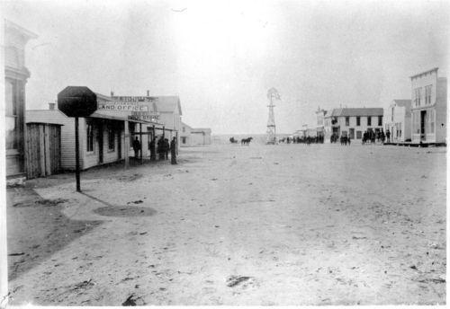 Street Scene, Fargo Springs, Kansas - Page