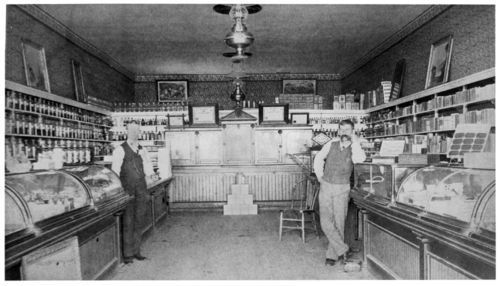 Harris and Baugh Drug Store, South Haven, Kansas - Page